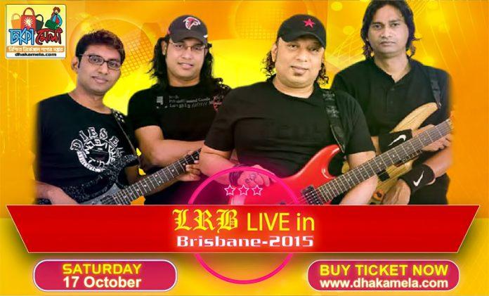 dhakamela is the only ticketing partner of LRB live concert in brisbane