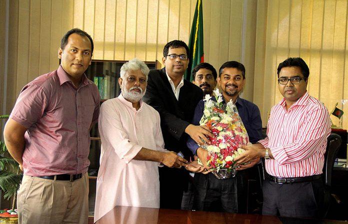 e-CAB meet Dhaka South Mayor