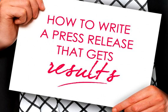 How to write a press release 2